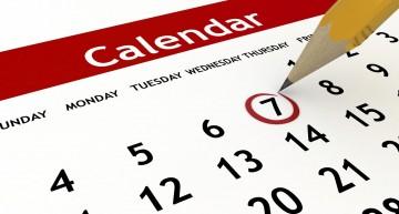 Calendario avvio anno scolastico 2014/15