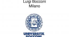 Ammissione in Bocconi 2015