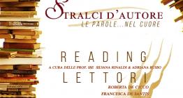 Stralci d'autore: Laboratorio di lettura creativa
