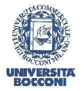 Università Bocconi: Ultima sessione di selezione a.a. 2018/2019