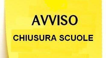 Le scuole resteranno chiuse anche domani 1° marzo 2018 per ordinanza del Sindaco Luigi de Magistris