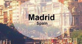Classi 5B, 5L, 4L: autorizzazione viaggio di istruzione a MADRID