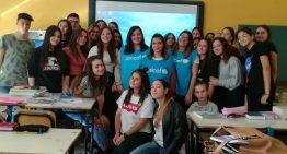 Gli alunni delle classi 1E e 2E incontrano le volontarie dell'Associazione progetto Unicef