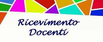 Orario ricevimento docenti a.s. 2019-2020