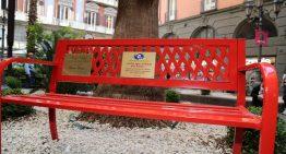 "Una ""panchina rossa"" dedicata a Tiziana Cantone"