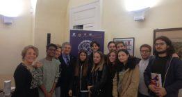 """La classe 4B alla serata conclusiva della Fondazione """"Premio Napoli"""" 2019"""