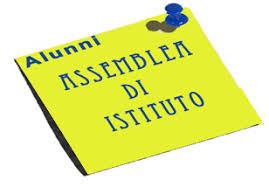 Assemblea d'Istituto giovedì 27 febbraio 2020