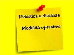 Ministero dell'Istruzione : prime indicazioni operative per le attività didattiche a distanza – 17 marzo 2020