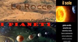"""DAD: I lavori di scienze e chimica della 1A """"I pianeti"""", """"Le rocce"""", """"Il sole""""e """"La Chimica"""""""